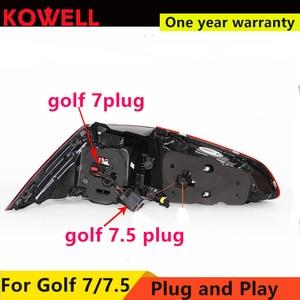 Image 5 - Auto Styling Voor Vw Golf 7 Golf 7.5 Achterlicht 2013 2018 MK7 MK7.5 Led Achter Lamp Drl + Rem + Park + Dynamische Signaal + Achteruitrijlicht