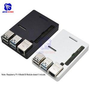 Image 1 - Raspberry Pi Model B Cnc Aluminium Case Ultra Dunne Metalen Doos Bescherming Case Voor Raspberry Pi 4 Model B Met Tool