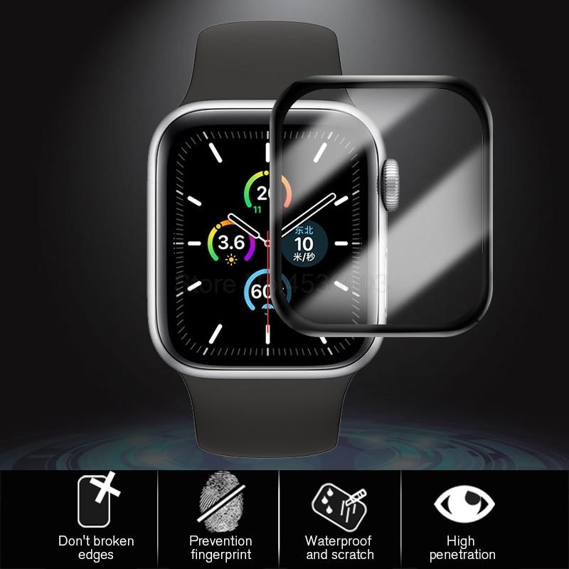 Защитное стекло для apple watch series 6 se 44 мм 40 Ультратонкий