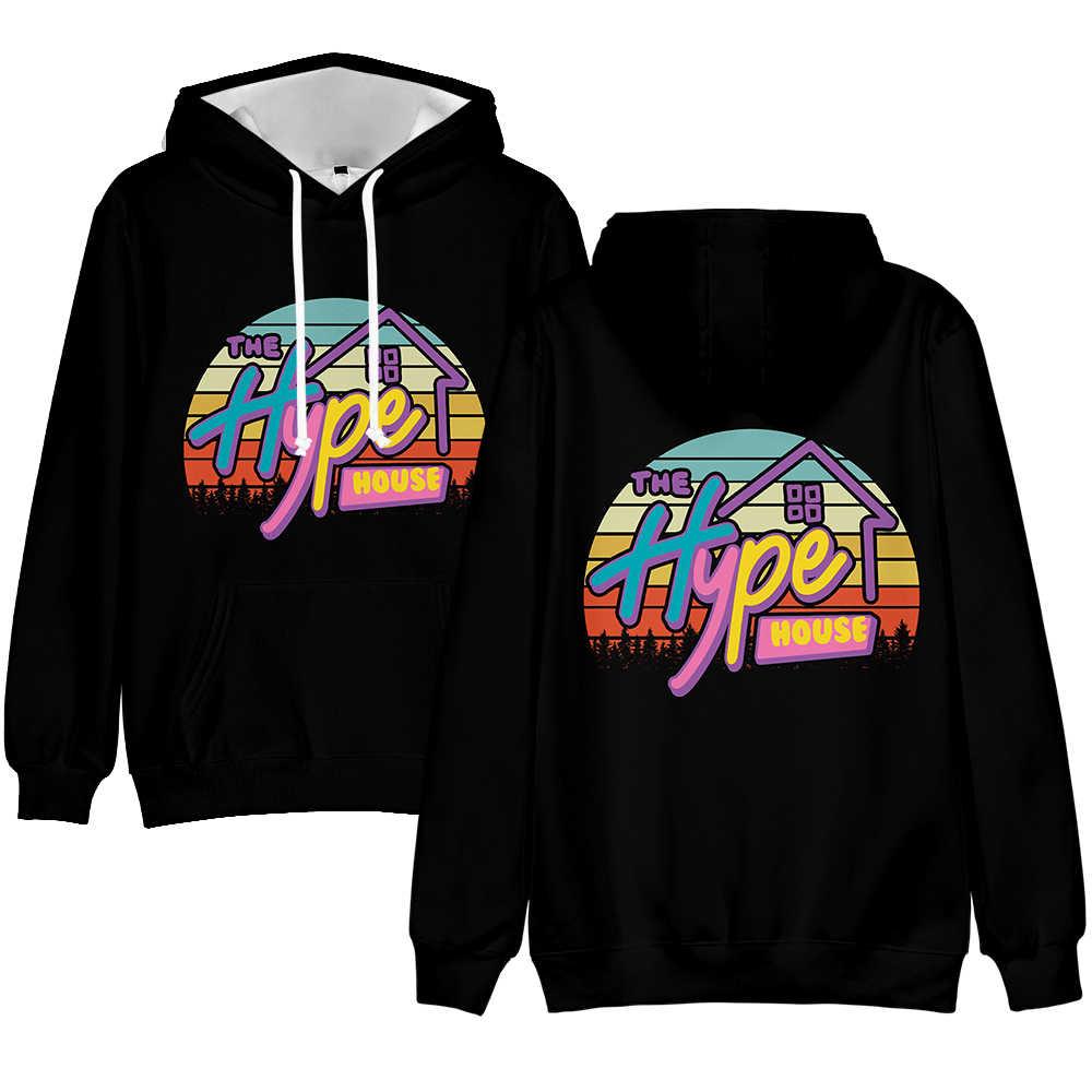 Rholycrown De Hype Huis Karakter Print Mannen Jongens Sweatshirt Vrouwen Meisjes 3D Trui Mode Straat Jas 3D Hoody hip Hop
