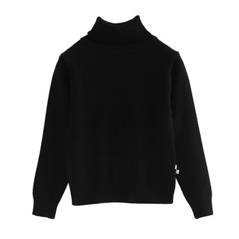 2020 Spring Autumn Kids Sweater Plain Turtle Neck Boys and Girls Pullover 1 2 3 4 5 6 7 Years Old Toddler Girl Clothes 195002