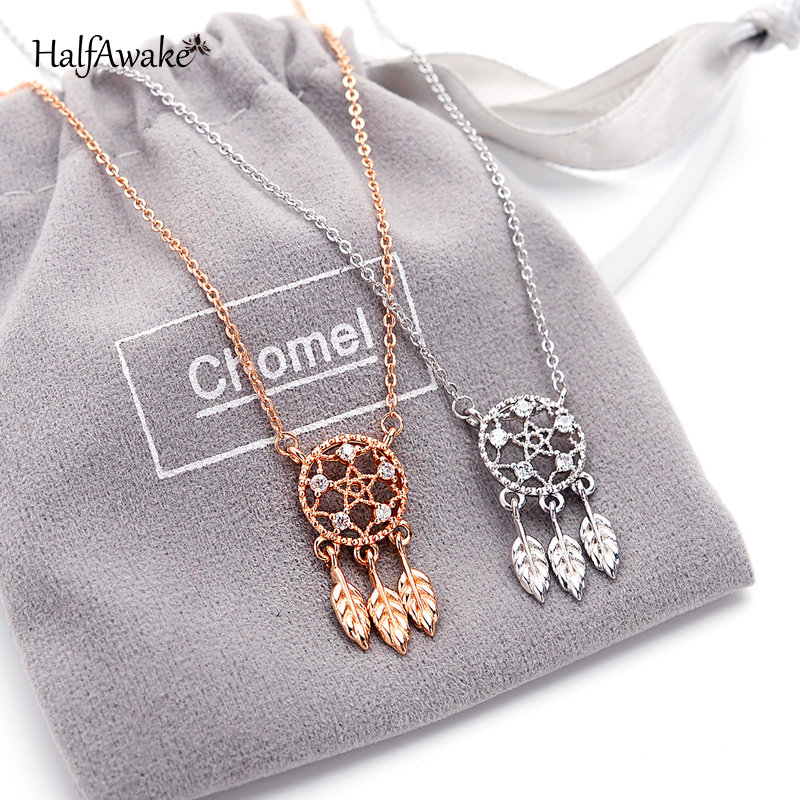 Long Pearl Necklace Dream Catcher Moon Butterfly Korean Fashion Aesthetic Chain With Pendant Choker For Women Gift Jewelry 2021