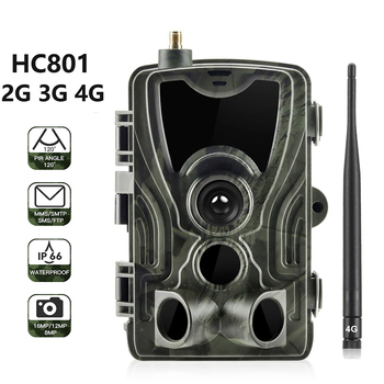 HC801 2G MMS/SMS/Email Hunting Camera 20MP 1080P Night Vision Trail Camera 0.3s Trigger Wireless Surveillance Scout Camera 1