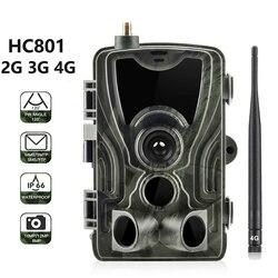 HC801 2 جرام 3 جرام 4 جرام MMS/SMS/البريد الإلكتروني الصيد كاميرا 16MP 1080P للرؤية الليلية كاميرا تعقب 0.3s الزناد كاميرا مراقبة لاسلكية الكشفية
