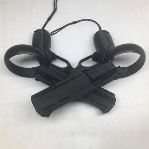 Image 1 - لعبة الواقع الافتراضي بنادق التصويب مسدس اطلاق النار نموذج بندقية ثلاثية الأبعاد الطباعة المنتج ل كوة كويست/Rift S VR تحكم الملحقات