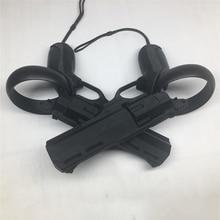 VR 게임 슈팅 건 리볼버 슈팅 모델 총 Oculus Quest / Rift S VR 컨트롤러 액세서리 용 3D 인쇄 제품