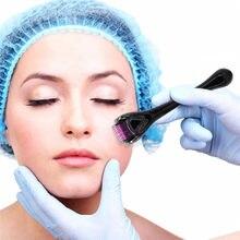 Drs 540 derma roller 0.2/0.25/0.3mm agulhas titanium mezoroller dr caneta máquina para cuidados com a pele cabelo-perda tratamento caneta