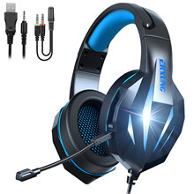 Gaming Headset Xbox Monster Stereo-Bass Wired with Microphone-Usb for PC Laptop Laptop