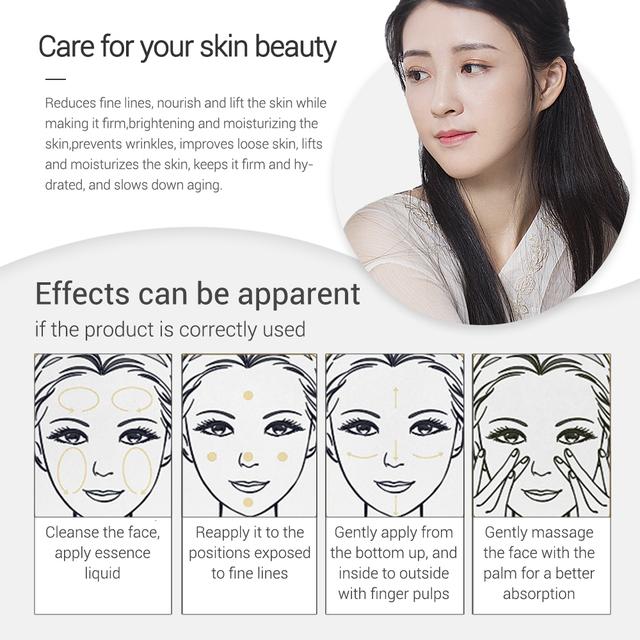 LANBENA Vitamin C Serum 24K GoldSerum  +Hyaluronic Acid Serum Moisturizing Anti-Aging  Whitening Brighten Skin Care