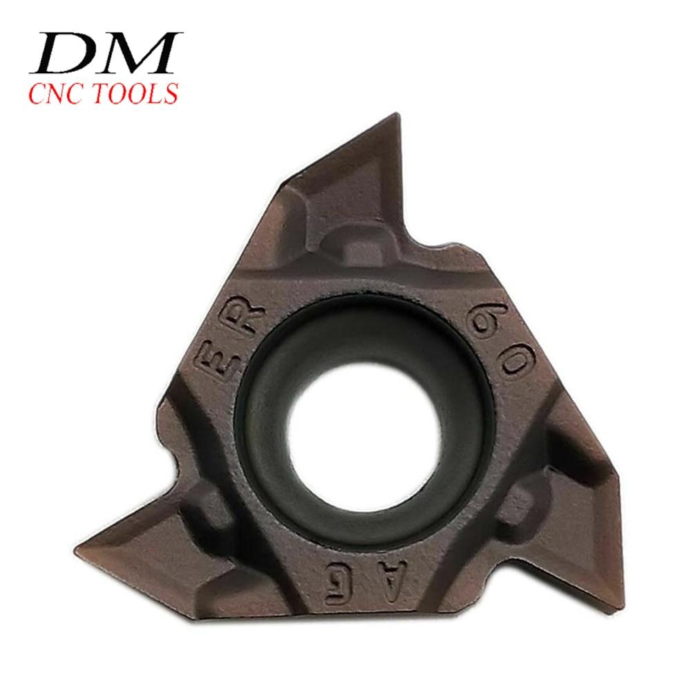 50* 16ER AG60-S VP15TF Carbide Insert Blade Lathe Threading Boring Bar CNC