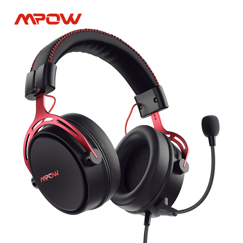 Mpow Air SE PS4 игровая гарнитура 3D объемный звук проводные наушники с шумоподавлением Микрофон для PS4 PS5 Xbox One Switch