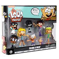 Fuerte casa figuras de acción de juguete 8 unids/set Lincoln Clyde Lori Lily Leni Lucy Lisa Luna juguetes para niños de regalo de Navidad