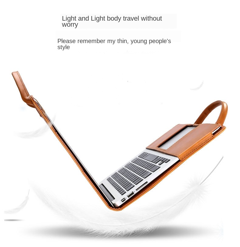 MacBook Leather Stand Case 1
