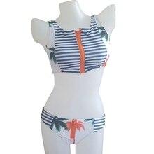 Swimsuit High Neck Bikini Bathing Suit Women Sexy Zipper Two-piece Swimsuit Bikini Set Low Waist Women Swimwear vsha women bandage bikini sexy black swimsuit high waist bikini set teen girl two piece suit adjustable elastic swimwear wetsuit