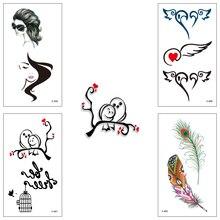 Wholesale 100 piece/lot waterproof Fake temporary tattoo Water Transfer Drgon Sticker man woman Beauty Cool Body Art X438-462
