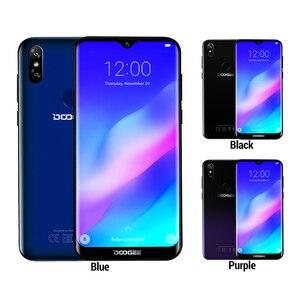 Image 4 - DOOGEE Y8 Plus MTK6761 3GB RAM 32GB ROM 4000mAh Android 9.0 FDD LTE 6.21 pouces 19:9 Waterdrop écran Smartphone double SIM 13.0MP