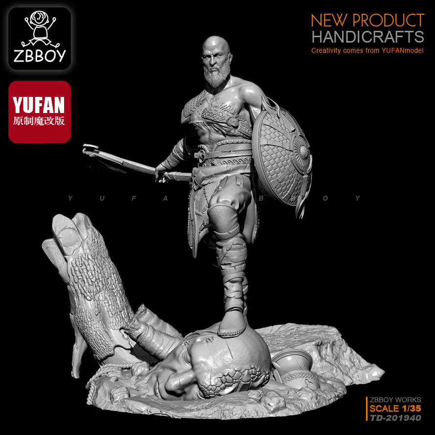 1/35  Resin Kits Immortal God Of War Resin Soldier TD-201940
