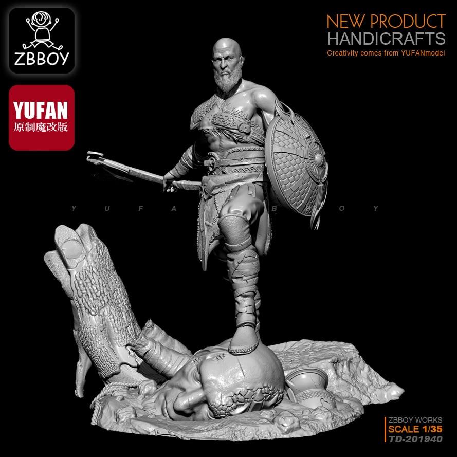 1/35  Resin Kits Immortal God Of War Resin Soldier TD-201940