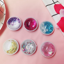 7 Colors Universal Cell Phone Bracket Houder Glitter Quicksand Expanding Grip Ring Holder For iPhone X XS MAX XR 8 7 6 6s Plus(China)