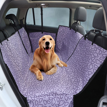 Dog Car Seat Cover  Waterproof Pet Dog Travel Mat Mesh Dog Carrier Car Hammock Cushion Protector With Zipper and Pocket 13
