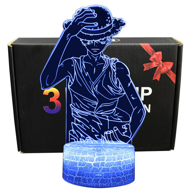 ONE PIECE THEMED 3D LED LAMP (19 VARIAN)