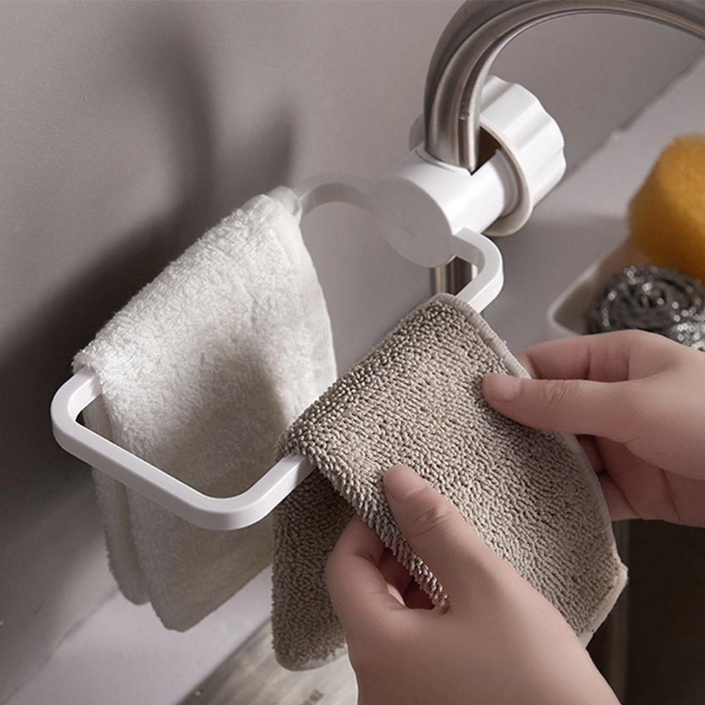 Permalink to Bathroom Kitchen Holder Accessories Toilet Drain ABS Hanging Storage Rack Shelf Dry Towel Faucet Clip Organizer Sink Dish Cloth