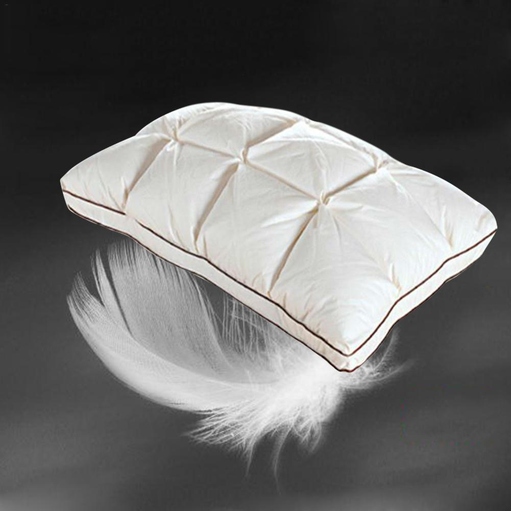 Cotton Goose Down Pillow Pillow Core Household Bedding Pillow Down Cushion Core Goose Down Filler Pillow Core 48x74cm