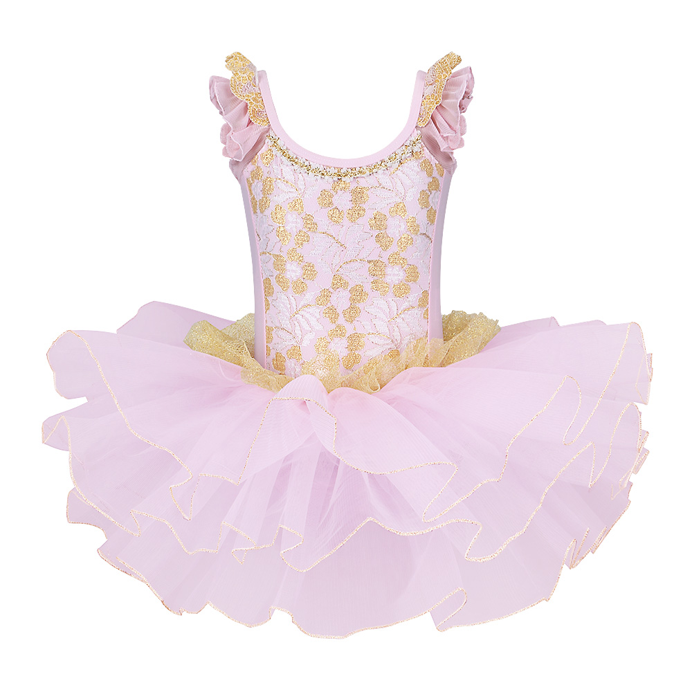 BAOHULU Cotton Tutu Ballet Dress Dance Costumes Ballerina-Ballet Professional Girls Birthday Party