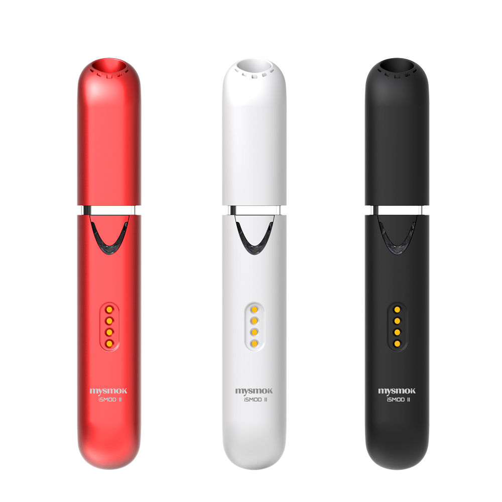 2019 Heat Not Burn Vape Pen MY SMOKE ISMOD Heat Without Burn Vaporizer With 2200mah Vape Kit Electronic Cigarette With Iqos