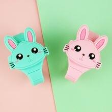 Часы Детские с милым кроликом для девочек электронные откидной