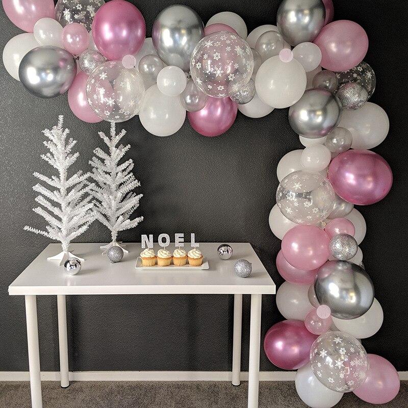 1set Girl Balloon Arch Kit Big Air Balloon Garland Set Wedding Birthday Decoration Bride Shower Anniversaire Party Marriage