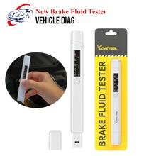 Новый тестер тормозной жидкости, 5 светодиодный, ручка для проверки качества масла, тестер тормозной жидкости для DOT3/DOT4/DOT5, инструменты для д...