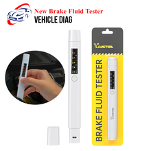 New Brake Fluid Tester 5 LED Oil Quality Check Pen Brake Fluid Liquid Tester for DOT3/DOT4/DOT5 Car Diagnostic Tool Herramientas