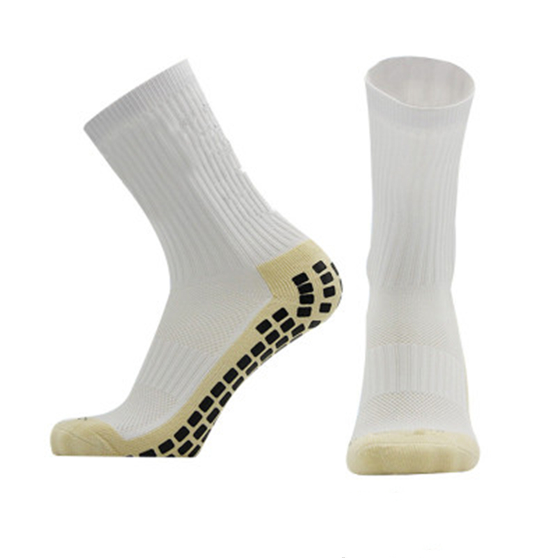 Anti-Slip Breathable Men Sports Summer Running Cotton And Rubber Football Basketball Soccer Short-barrel Socks Cycling Camping