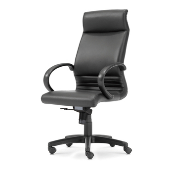 Black PU Leather Chair High Back Adjustable Computer Gaming Chairs Swivel Ergonomic Office Chair Furniture mesh chair swivel office chair high back gas lift armchair rolling legs office furniture hot sale