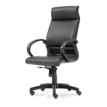 цена на Black PU Leather Chair High Back Adjustable Computer Gaming Chairs Swivel Ergonomic Office Chair Furniture