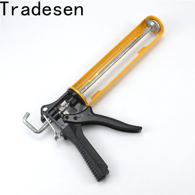 Glass Tools Save Pressure Industrial Glue Caulking Gun Cartridge Sealant 360 Degree Rotatable Durable