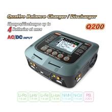 цена на RC Balance Charger SKYRC Q200 4-Channel Smart Charger AC/DC Chager for Lipo /LiHV /Li-Fe /Li-Ion /Ni-MH /Ni-Cd /PB Battery