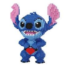 Micro Diamond Building-Blocks Anime Figures Educational-Toys Children for Gifts 5217pcs