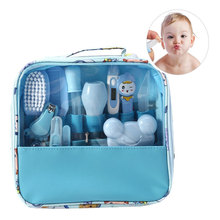 13pcs/Set Newborn Baby Kids Nail Hair Health Care Baby Care Kit Grooming  Thermometer Clipper Scissor Kid Toiletries for Baby