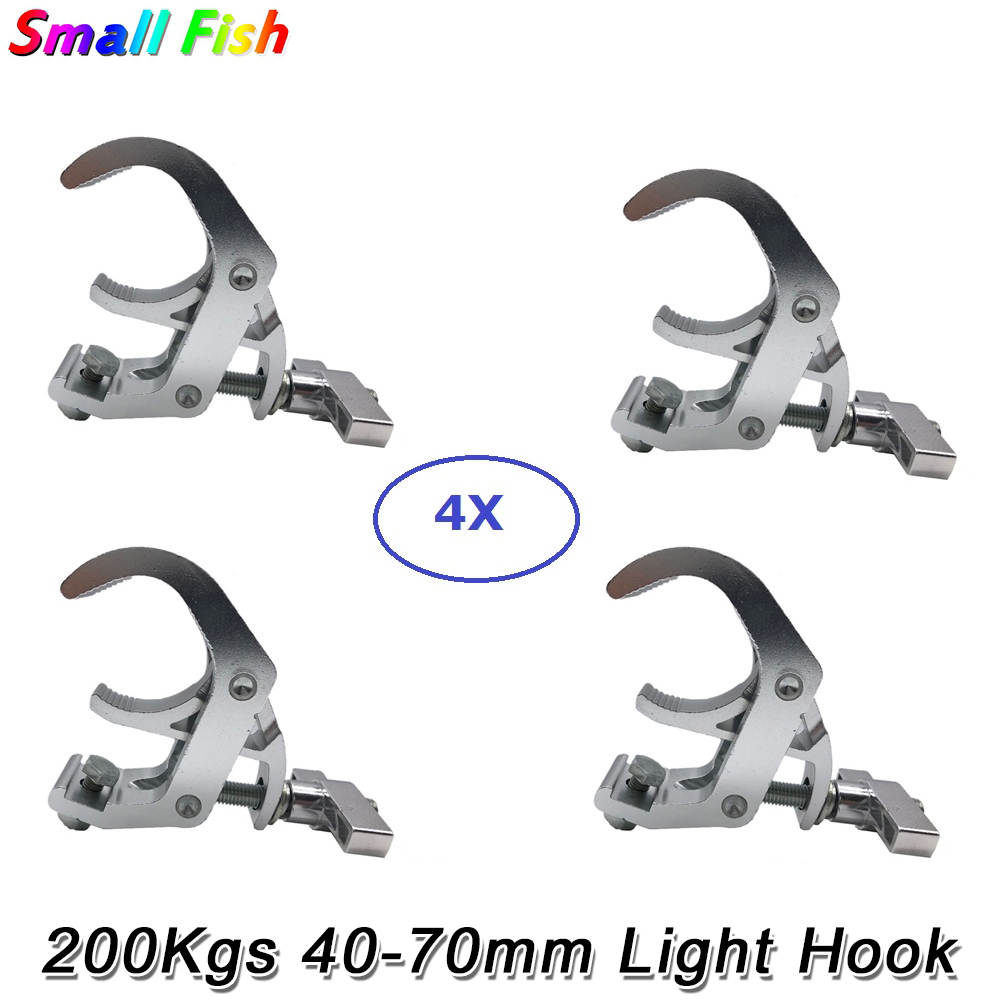 4Pcs/Lot High Quality Aluminium Material Stage Light Hooks LED Stage Par Light Clamp Truss For DJ Disco Party Moving Head Lamp|Stage Lighting Effect| |  - title=