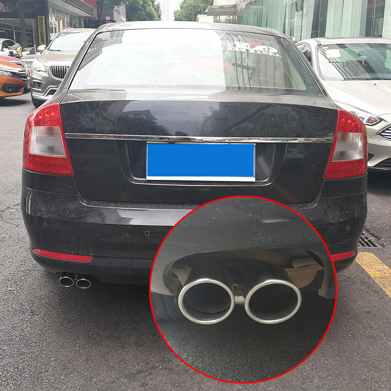 Centre Muffler Exhaust System Skoda Octavia Estate Car 1.8 T 4x4 Muffler