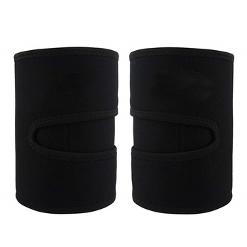 1 Pair Slender Sports Neoprene Leg Shaper Running Sweat Absorb Compress Belt Training Sauna Protective Slimming Fitness