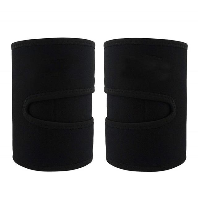 1 Pair Slender Sports Neoprene Leg Shaper Running Sweat Absorb Compress Belt Training Sauna Protective Slimming Fitness