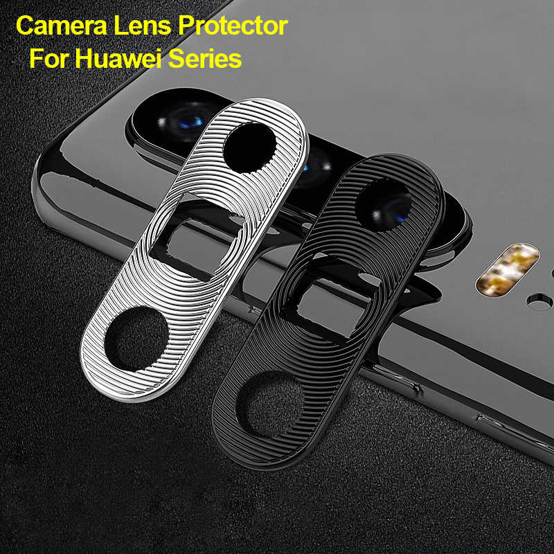 Plating Aluminum Camera Lens Protector Ring Cover Protection For Huawei Mate 20 Pro Honor 20 Pro 20i P20 P30 Lite P30 Pro Nova 3