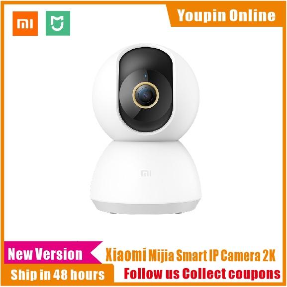 Оригинальная смарт-ip-камера Xiaomi Mijia, 2K, 360 градусов, видео, Wi-Fi, ночное видение, беспроводная веб-камера, камера безопасности, видеоняня, CCTV