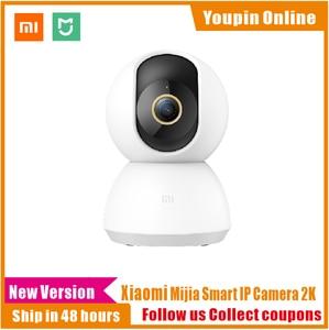 Image 1 - מקורי Xiaomi Mijia חכם IP מצלמה 2K 360 זווית וידאו WiFi ראיית לילה אלחוטי מצלמת אבטחת תצוגת מצלמת תינוק צג טלוויזיה במעגל סגור
