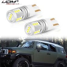 IJDM coche W5W LED de alta potencia 12V-32V 168 de 192 T10 bombillas LED para 2007-2014 Toyota FJ Cruiser lado espejo Reemplazo/luz de estacionamiento