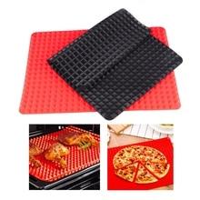 2PC Bakeware Pan Non-Stick Silicone Baking Mats Pads Cooking Mat Oven Baking Tray Sheet Kitchen Tools