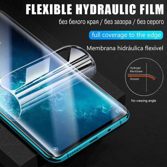 Full Cover Hydrogel Film For Xiaomi 8 9 SE 9T 10 Pro Note 10 Lite Screen Protector For Redmi Note 9S 5 6 7 8 9 Pro 9A Not glass